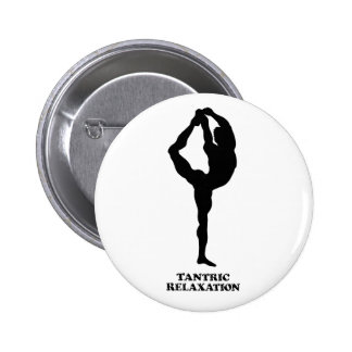 Tantric Relaxation - Round Button