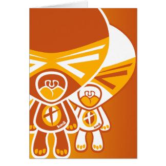 Tantrum Mascot Greeting Cards
