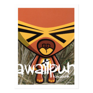 Tantrum Mascot Postcard