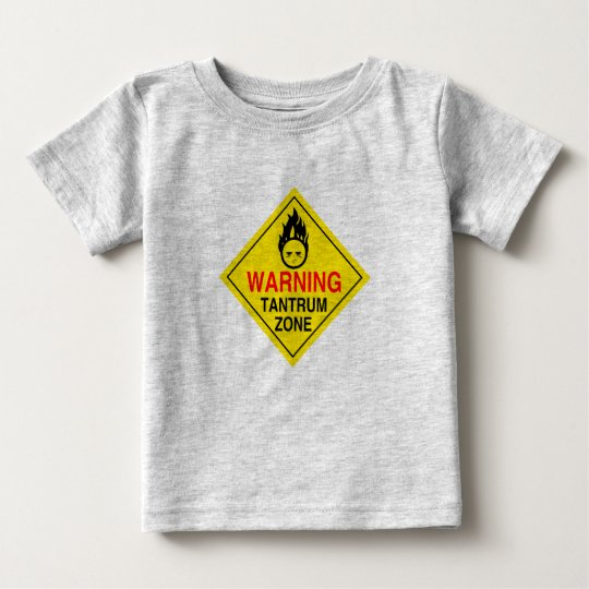 Tantrum Zone Toddler Shirt