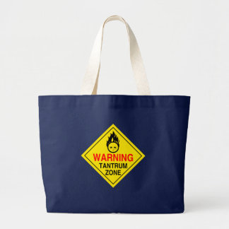 Tantrum Zone Tote Bag