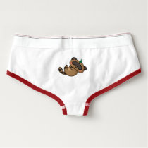 Tanuki and Leaves Briefs