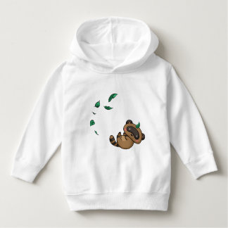 Tanuki and Leaves Hoodie