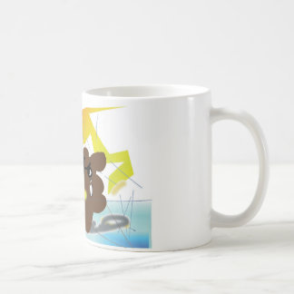 TANUKI fights with daemon in Computer! Coffee Mug