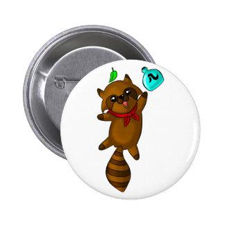tanuki pin redondo 5 cm