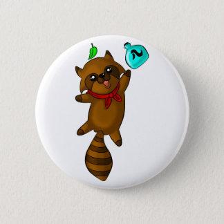 tanuki pinback button
