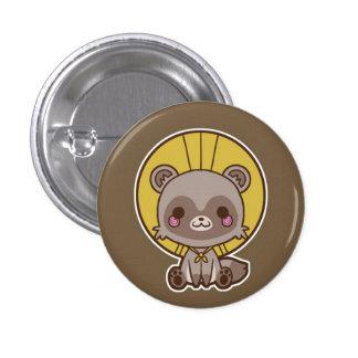 Tanuki (Raccon Dog) Button