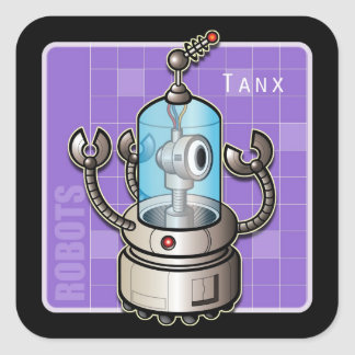 Tanx the Robot Sticker