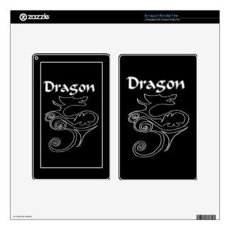 Tanya Dragon Kindle Fire Decal