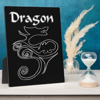 Tanya Dragon Plaque