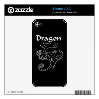 Tanya Dragon Skin Skin For The iPhone 4S