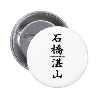 Tanzan Ishibashi Pinback Button