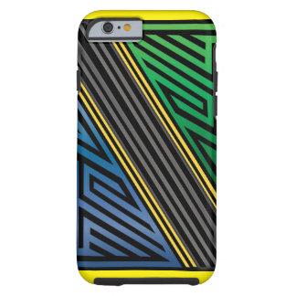 Tanzania Abstract Tough iPhone 6 Case