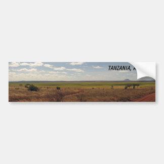 Tanzania, África Pegatina De Parachoque