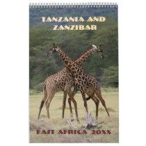 Tanzania and Zanzibar Calendar
