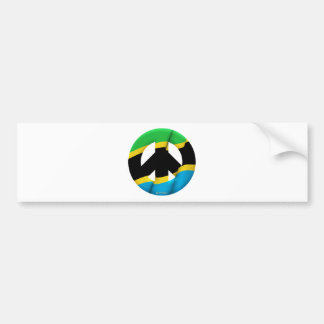 Tanzania Car Bumper Sticker