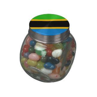 Tanzania Glass Candy Jar