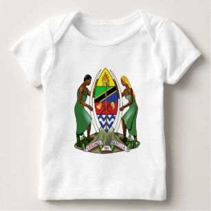 Tanzania coat of arms baby T-Shirt