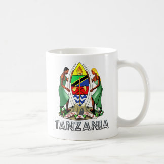 Tanzania Coat of Arms Coffee Mug