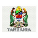 Tanzania Coat of Arms Post Cards