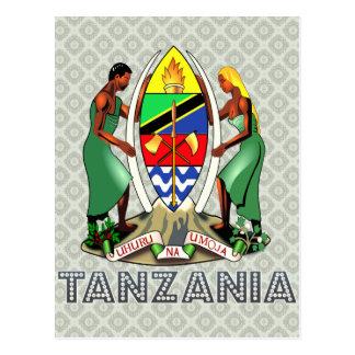 Tanzania Coat of Arms Postcard