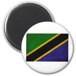 Tanzania Flag 2 Inch Round Magnet