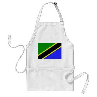 Tanzania Flag Adult Apron