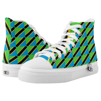 Tanzania Flag -.png High-Top Sneakers