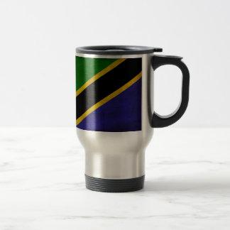 Tanzania Flag Travel Mug