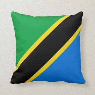 Tanzania Flag x Flag Pillow
