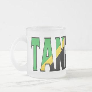 Tanzania Frosted Mug