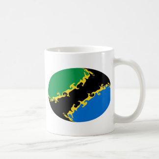 Tanzania Gnarly Flag Mug