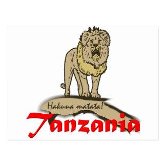 Tanzania Goodies Postcard