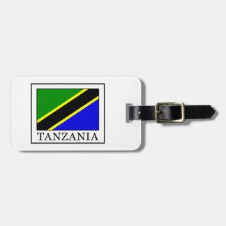 Tanzania Luggage Tag