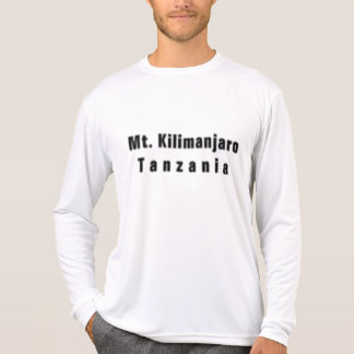 Tanzania(mountain kilomanjaro) T-shirt & Etc