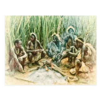 Tanzania Natives of Africa by Shawna Mac Postcard