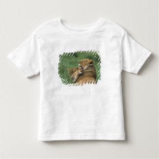 Tanzania, Ngorongoro Crater. African lion mother Toddler T-shirt