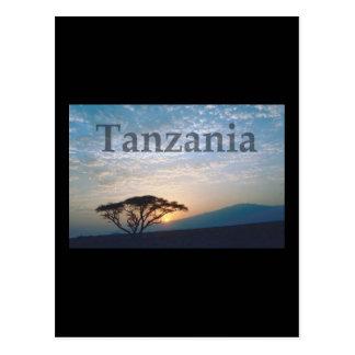 Tanzania Post Card