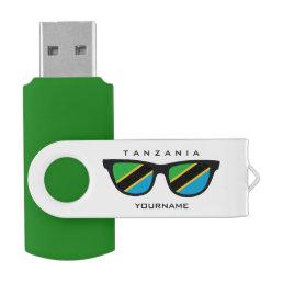 Tanzania Shades custom USB drives