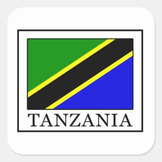 Tanzania Square Sticker