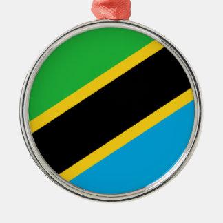 Tanzania – Tanzanian Flag Metal Ornament
