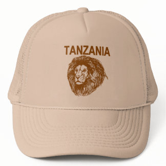 Tanzania With Lion Cap