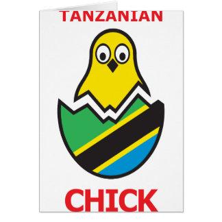 Tanzanian Chick Card