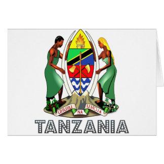 Tanzanian Emblem Cards