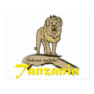 Tanzanian Goodies Postcard