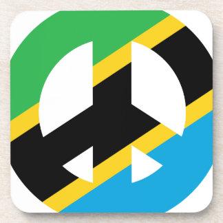 Tanzanian Peace Symbol Drink Coaster