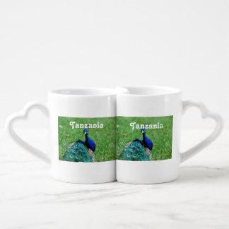 Tanzanian Peacock Lovers Mug Set