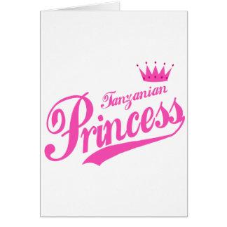 Tanzanian Princess Greeting Cards