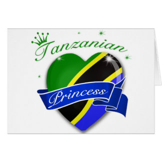 Tanzanian Princess Card