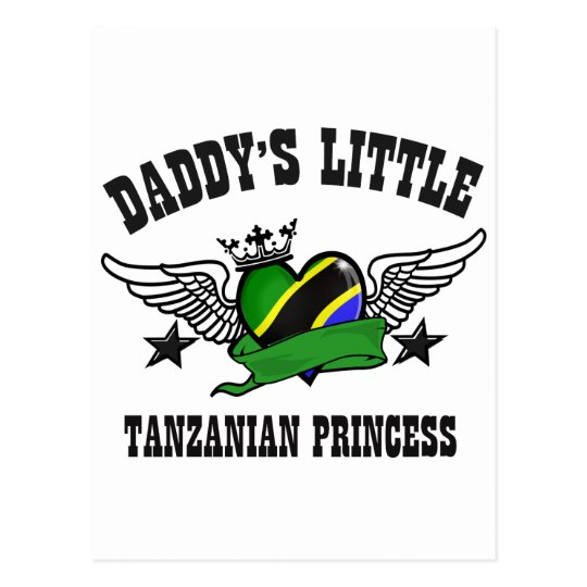 tanzanian princess designs postcard